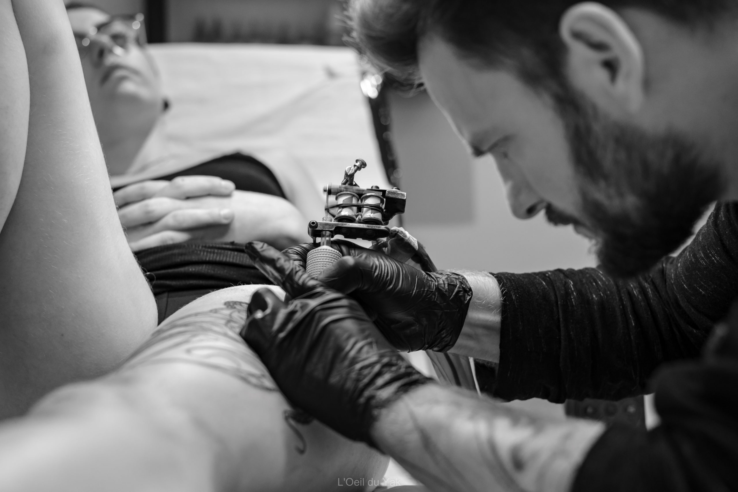 raphe tatouant